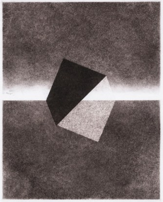 Wolfram Erber, O.T., 2014, Pastell, Bildmaß 20x16 cm.