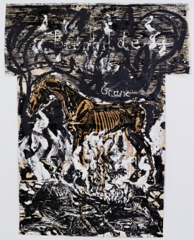 Anselm Kiefer Brünhilde – Grane, 1977_78 The Sonnabend Collection and Antonio Homem; © Anselm Kiefer und The Sonnabend Collection and Antonio Homem