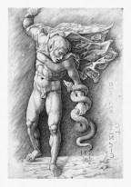 Faun, eine Schlange würgend, Schule Andrea Mantegna, um 1490–1550