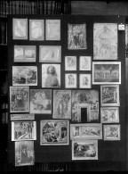 Aby Warburg, Tafel 37 des Mnemosyne Bilderatlas, historische Aufnahme der Originaltafel © Warburg Institute, London