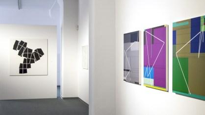 Manfred Mohr – Vom Rhythmus zum Algorithmus, Ausstellungsansicht