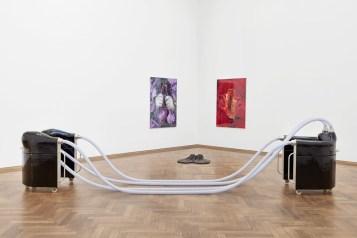 Installationsansicht Ungestalt, Kunsthalle Basel, 2017. Foto: Philipp Hänger