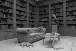 Hans Op de Beeck THE COLLECTOR'S HOUSE 2016 Rauminstallation (verschiedene Materialien) 20 x 12,5 x 4 m © Hans Op de Beeck