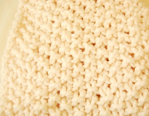 Moss Stitch Knit