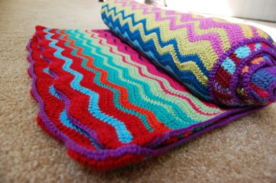 Ripple Blanket to Crochet