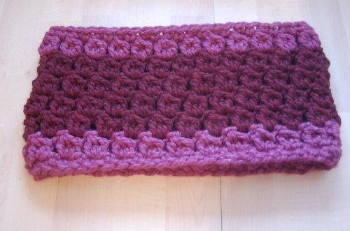 Easy Crochet Cowl Pattern