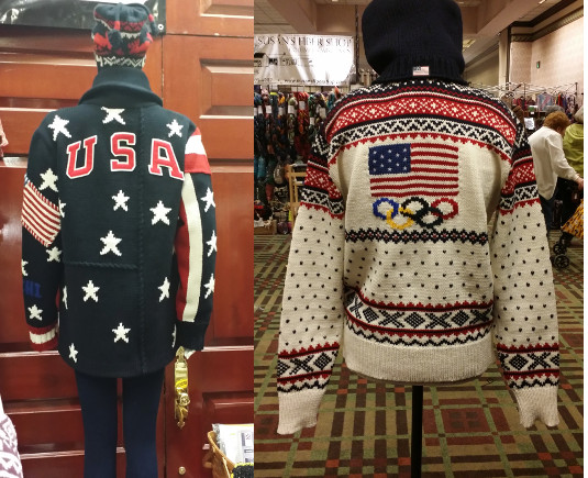 Opening & Closing Ceremony Knit Sweaters from the 2014 Sochi Olympics