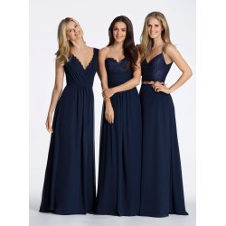 Small Crop Of Navy Blue Bridesmaid Dresses