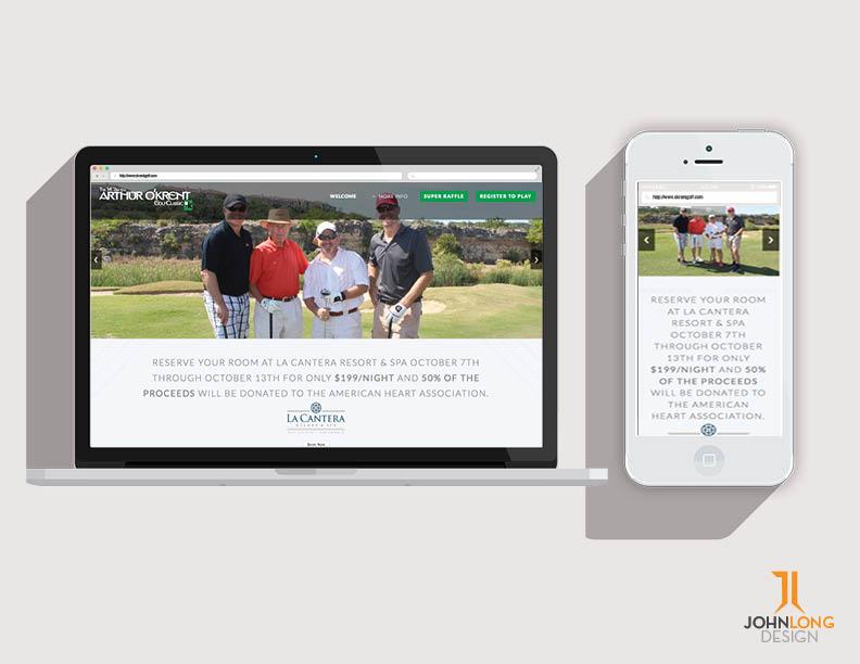Web Design - O'krent Golf Classic