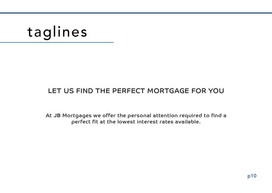 Brand Manual JB Mortgages Branding London Southgate