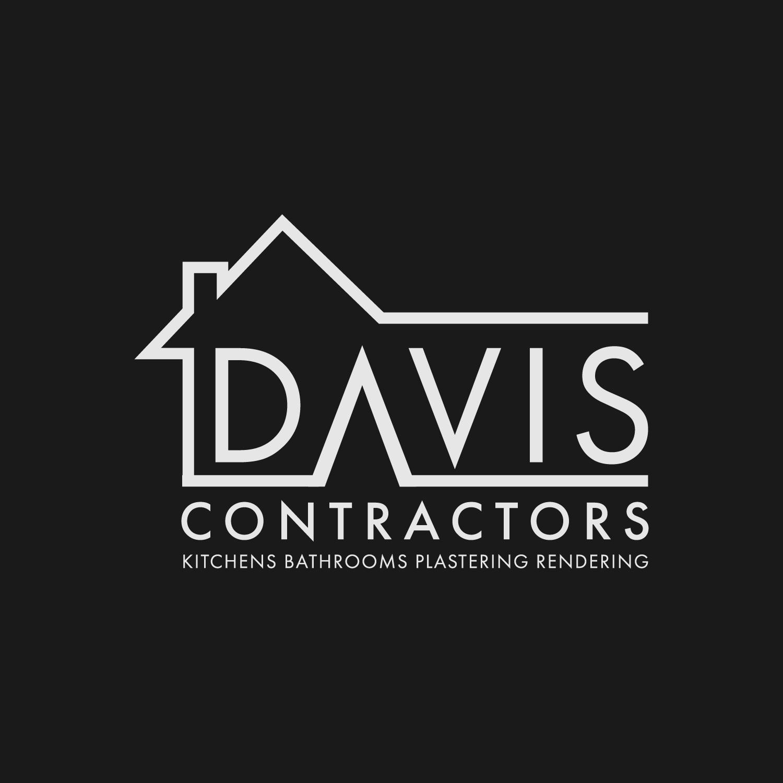 Davis Contractors logo design