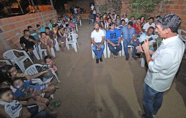Raul Filho debate plano de governo com moradores do Taquari e Taquaruçu Grande