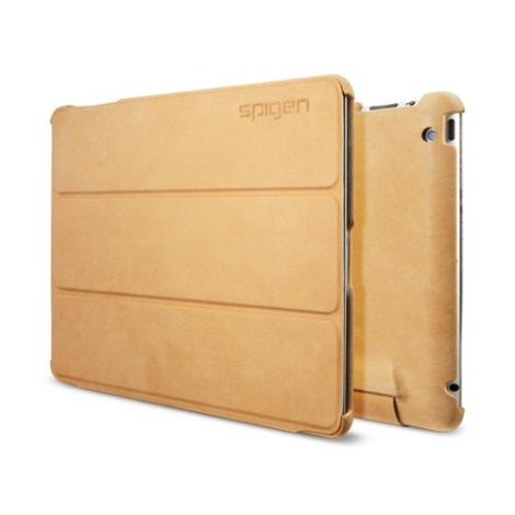 SPIGEN SGP SGP09162 Leinwand Leather Case for The New iPad