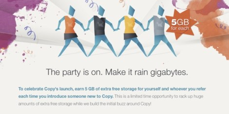Join the free 5GB party with Copy