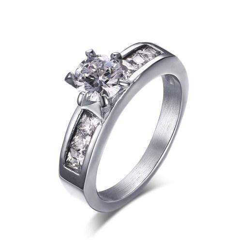 Medium Crop Of Titanium Engagement Rings