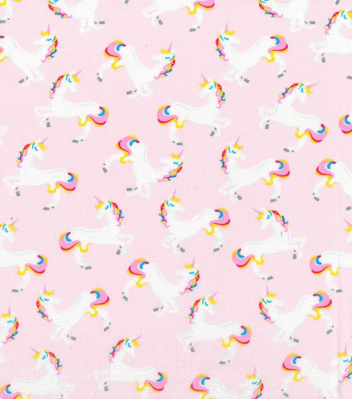 Cute Wallpaper Patterns Novelty Cotton Fabric 43 Quot Unicorn Pink Joann