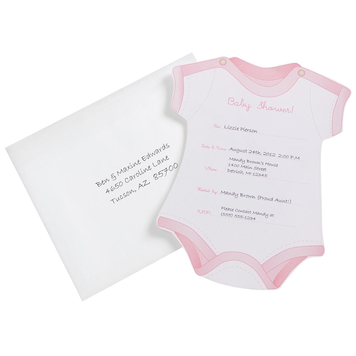 Fullsize Of Baby Girl Shower Invitations