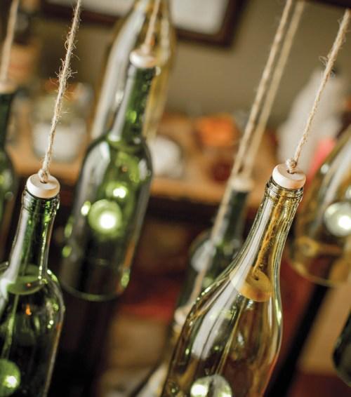 Medium Of Wine Bottle Chandelier