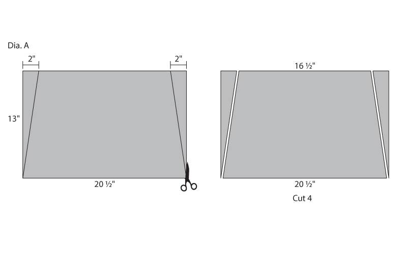 Side Pocket Apron JOANN - pocket template