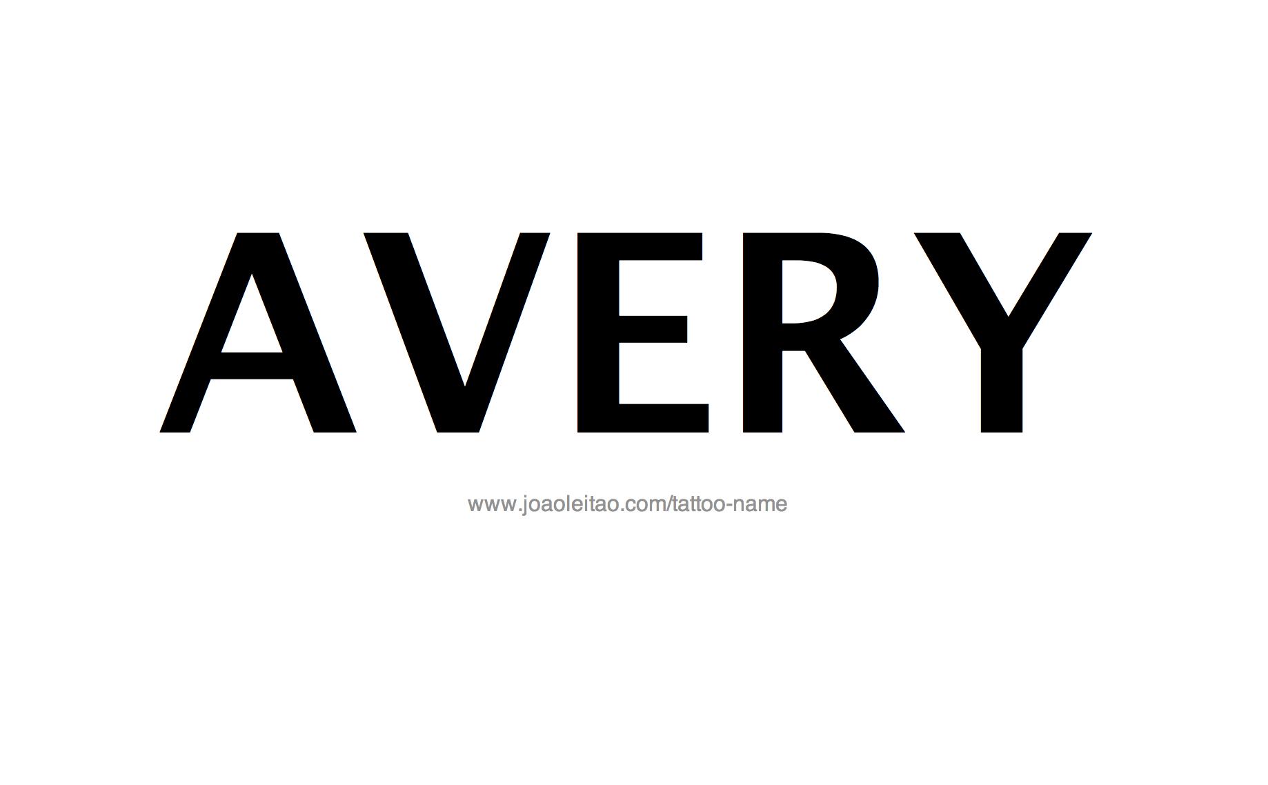 avery designs online