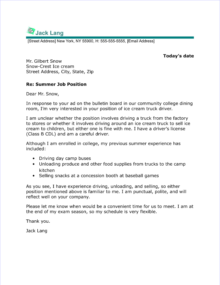 Property Manager Cover Letter Sample - property manager cover letter