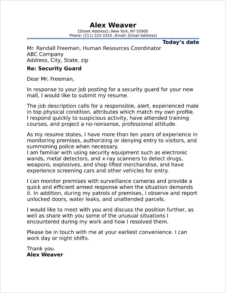 G4s Security Officer Sample Resume | nfcnbarroom.com