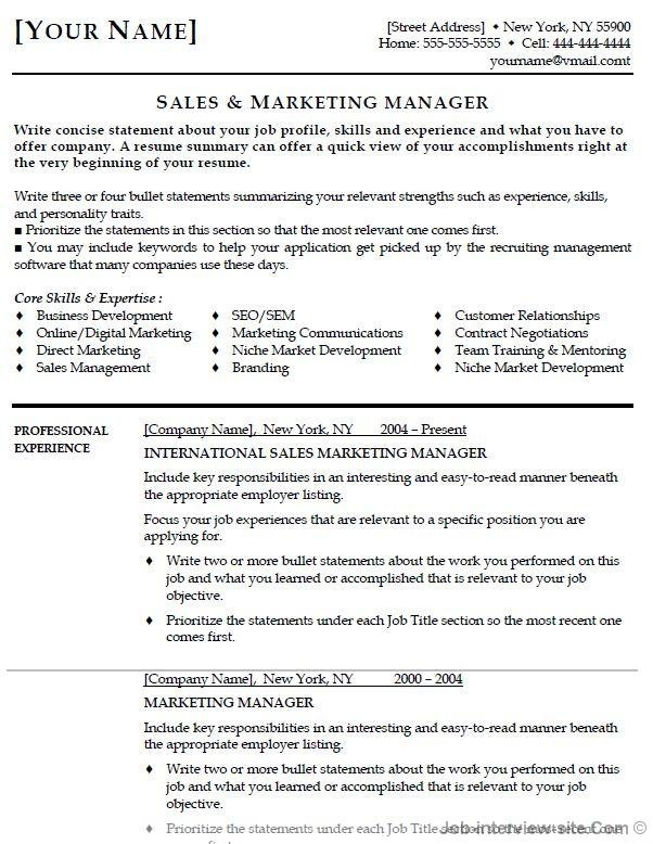 work resume format - Goalblockety