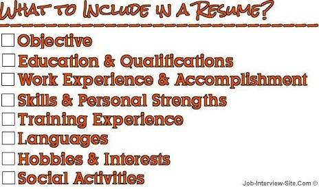 How to Type a Resume for a Job  A Guide For Beginners - What A Resume Should Look Resume