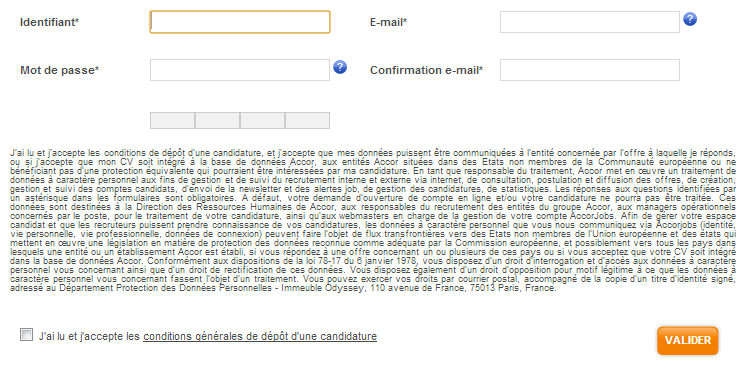 accor job deposer un cv