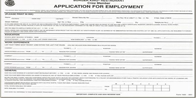 Employment Application Form For Website Professional Resume Cv Maker