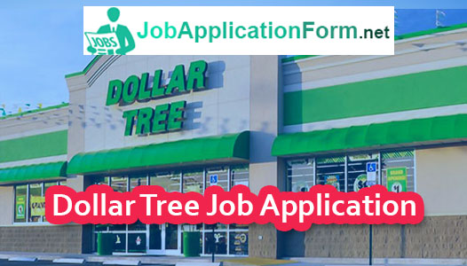 Dollar Tree Job Application Form 2019 Jobapplicationformnet
