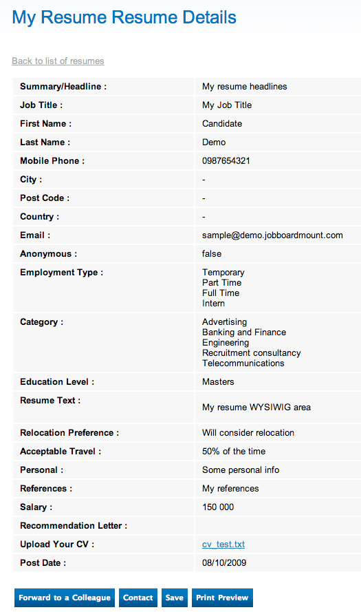 job application resume sample radiotodorock