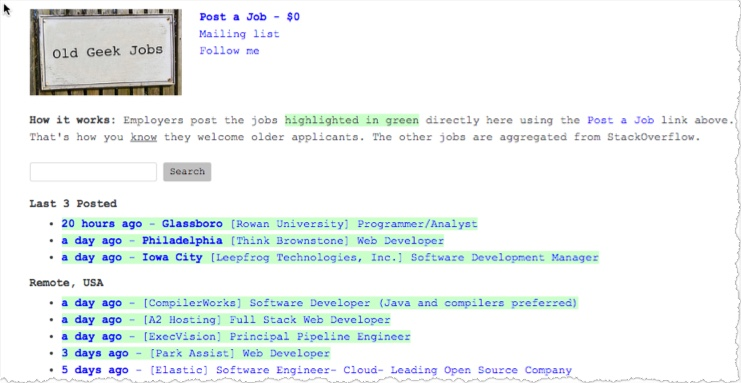 old geek jobs Job Board Consulting - job boards consultant