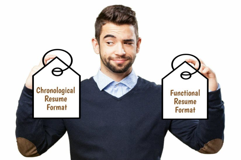 Chronological vs Functional Resume Which Is Right for You - chronological resume vs functional resume