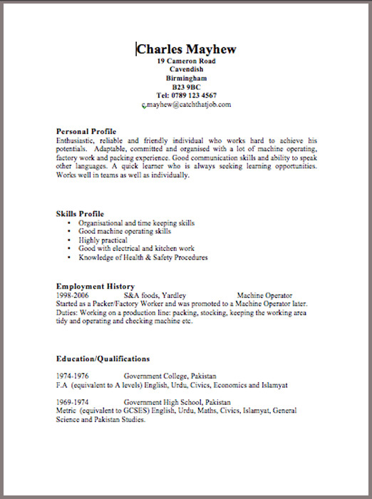 How To Download Resume Cv Template To Download