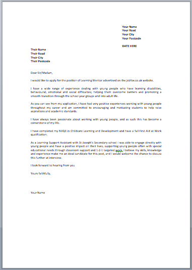 language interpreter cover letter sample sample cover letter - Retail Cover Letter Examples Uk