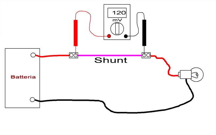 shunt bedradings schema