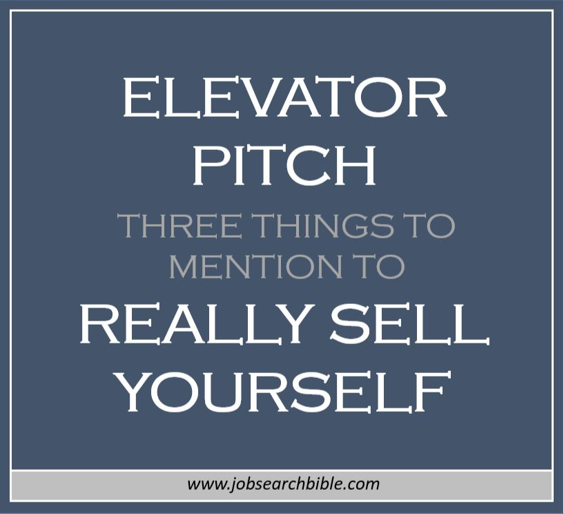 Resume Elevator Pitch With Examples