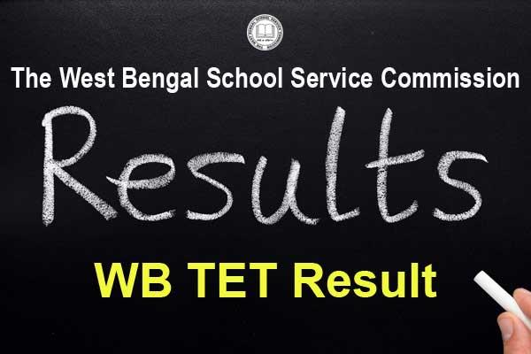 WB TET Result Merit List Released