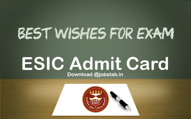 esic-admit-card-download