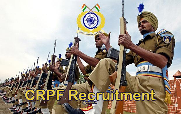 CRPF Recruitment 2016 Apply for 2695 Technical & Tradesman Posts