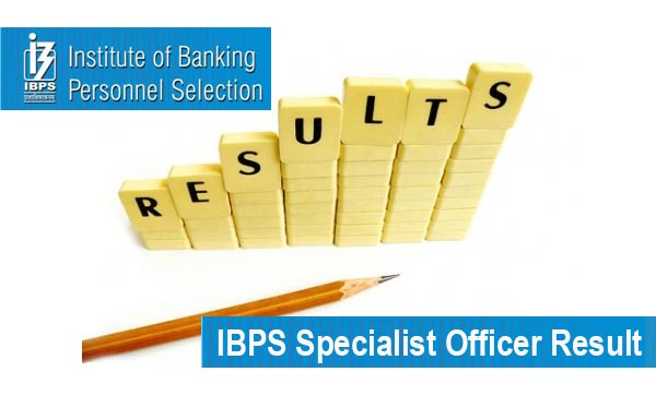 IBPS Specialist Officer Result 2016 Check IBPS CWE SO 5 Score Card
