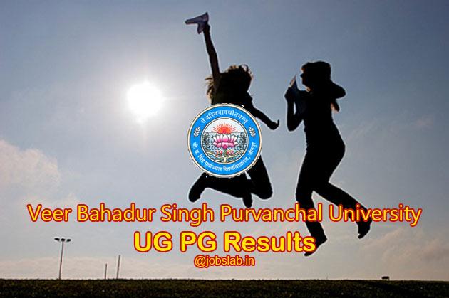 vbs-purvanchal-university-result
