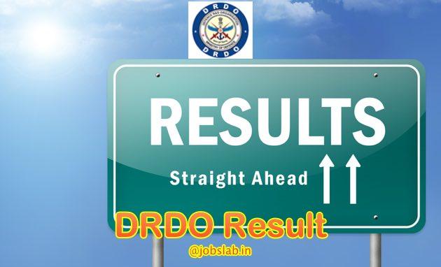 DRDO Result 2016 Available for CEPTAM 8 exam for 1142 Technician Posts Exam