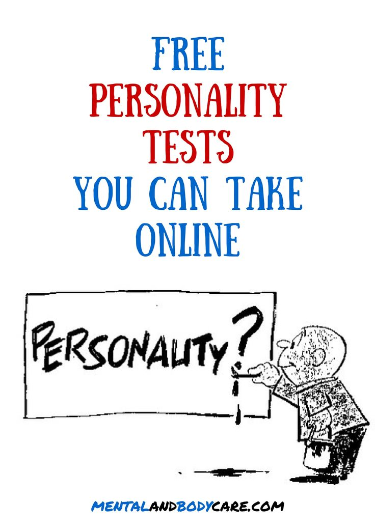 Top Six Free Online Personality Tests That will Assist to Select A