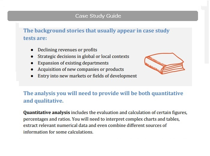 Get Assessment Centre Case Study Practice - JobTestPrep - Case Analysis