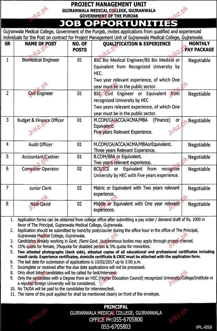 Biomedical Engineers, Civil Engineers Job Opportunity 2018 Jobs Pakistan - biomedical engineering job description