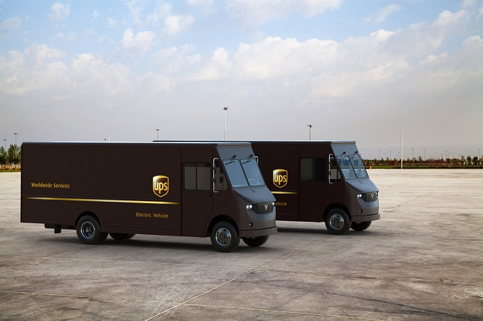 US Trucking UPS to test Thor Trucks electric delivery vans in LA