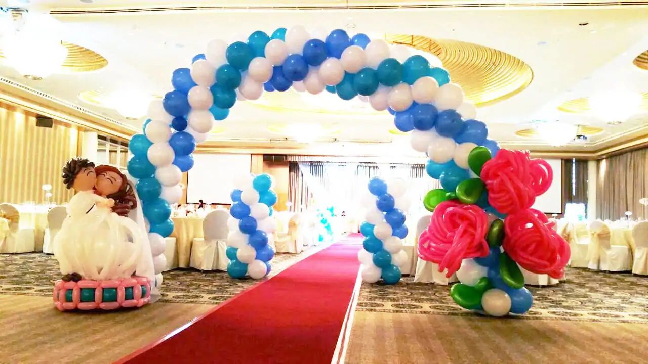 Balloon arch for wedding -  Balloon Arch For Wedding Download