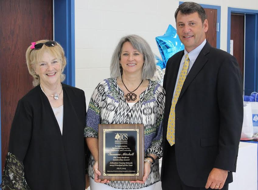 Mitchell Named 2015-2016 Johnston County Schools Principal of the